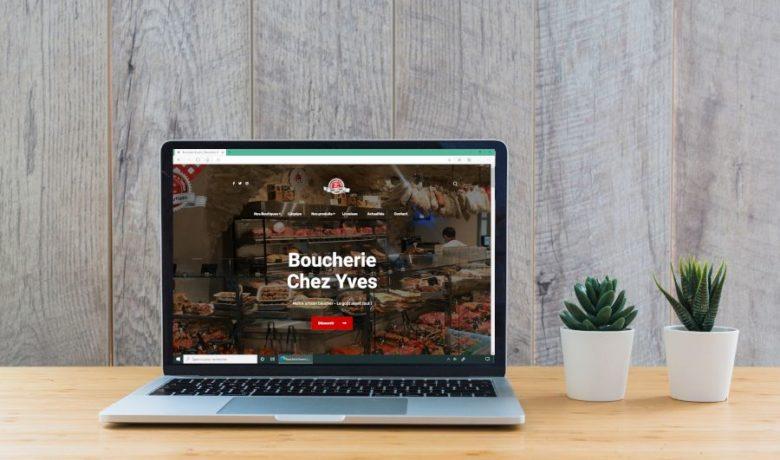 site internet boucherie chez yves